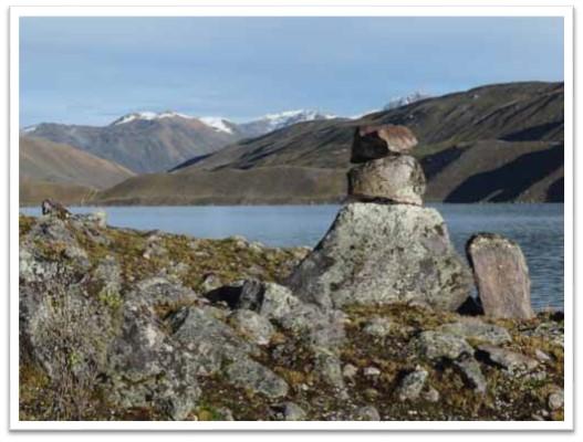 Quellwasser Sinakara-See Peru